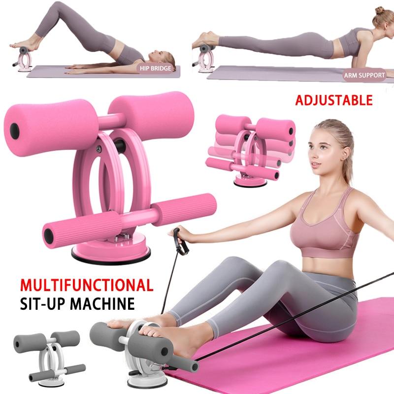 Многофункциональный аппарат для приседания, оборудование для тренировки мышц живота, портативный прибор для приседания, оборудование для ...