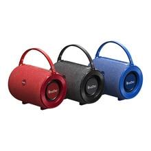 OneDer V3 Bluetooth Lautsprecher Stoff Material 18650 Lithium-ionen-akku Tragbare Lautsprecher mit Handtasche Lautsprecher