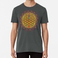 생명의 꽃 차크라 영성 요가 생명의 꽃 인식 ayurveda buddha buddhism chakra ZEN T shirt