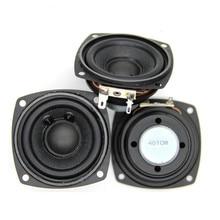 SOTAMIA – haut-parleur Audio 2.5 pouces, 2 pièces, son, musique, pilote, aimant interne, 4 Ohm, 10 W, basse, DIY, pour Home cinéma