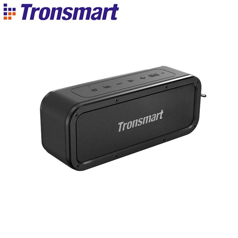 Tronsmart Force Bluetooth Speaker Bluetooth 5.0 Portable Speaker 40W Speakers IPX7 Waterproof with Voice Assistant,TWS,NFC