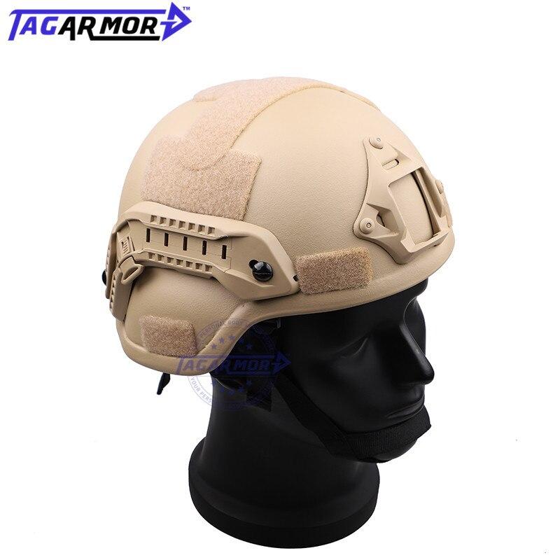 NIJ-خوذة عسكرية مضادة للرصاص ، مستوى IIIA ، واقي من الرصاص ، واقي رأس عسكري MICH 2000