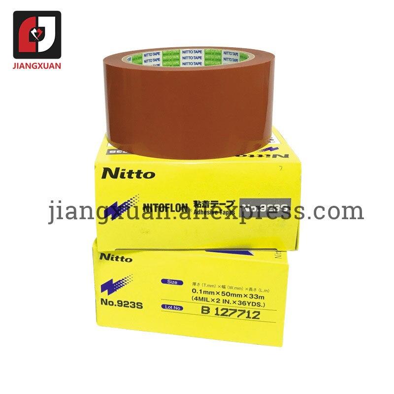 5 pcs 923S T0.10mm*W50mm*L33m Nitto Denko NITOFLON PTFE Film Tape
