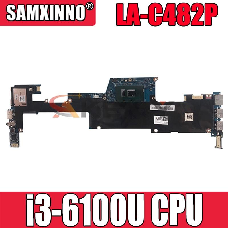 833504-001 833504-601 ل HP X360 13-D i3-6100U مفكرة اللوحة LA-C482P SR2EU DR3 اللوحة المحمول