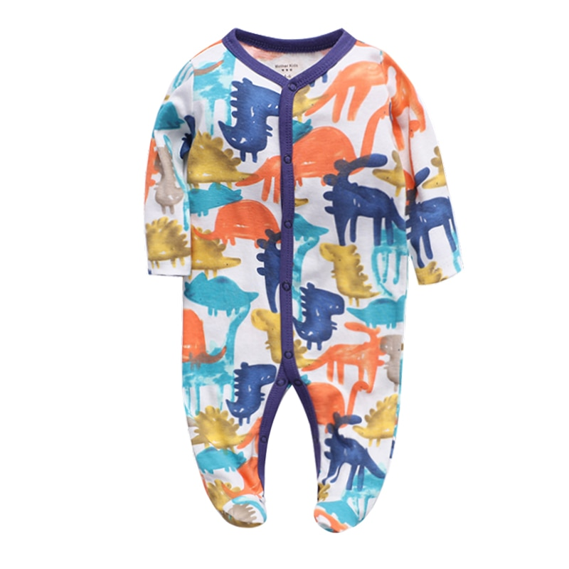 Long Sleeve Pajamas Spring Newborn Baby Clothes For Girls Boys baby girl clothes Jumpsuit Baby Clothing boy Kids Outfits children s suit baby boy clothes set cotton long sleeve sets for newborn baby boys outfits baby girl clothing kids suits pajamas