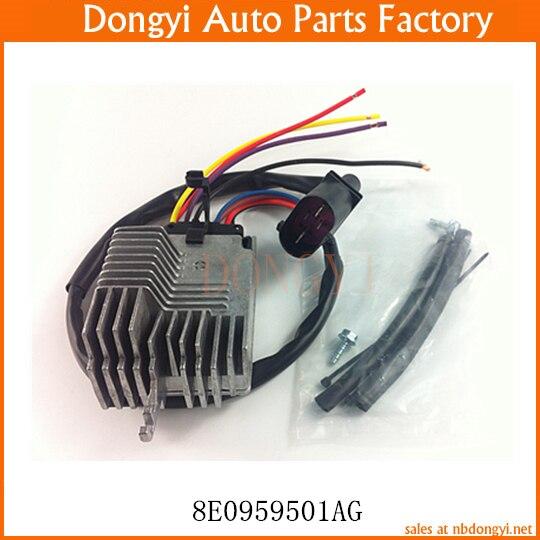 Fan Control Module Blower Motor Resistor Regulator OE NO. 8E0959501AG