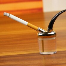 1Pcs New Popular Hookah Shisha Tobacco Smoking Pipes Gift Creative Metal Cigarette Holder Metal Wate
