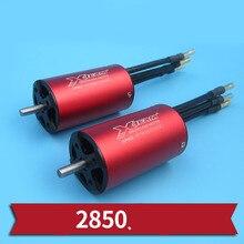1PC High Power 2850 Brushless Motor 3100KV 3500KV 4200KV Motors 3S Water-cooled Motor in 4mm Shaft for RC Boats Power System