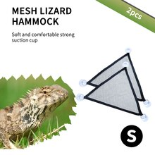 Reptil Hängematte Liege Leiter Zubehör Set Für Große Kleine Bearded Drachen Geckos Eidechsen Oder Schlangen