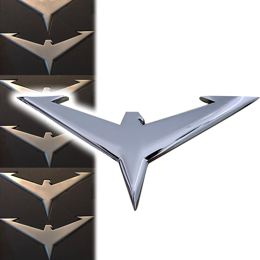 Tevê cosplay titãs batman robin asa-dings dardo dick grayson nightwing batdart acessórios de metal prop