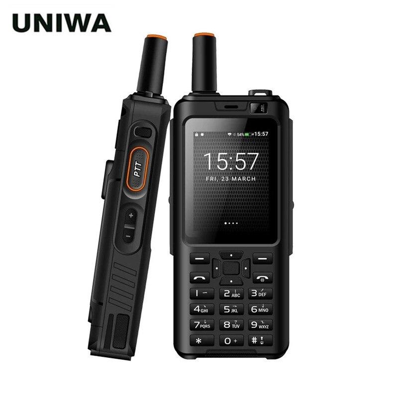 Рация UNIWA Alps F40 Zello, 4G мобильный телефон, IP65 Водонепроницаемый Прочный смартфон с клавиатурой, MTK6737M четыре ядра, Android VS F60