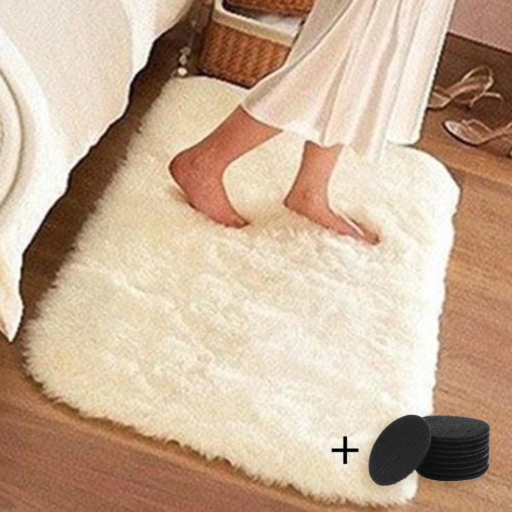 Hogar Artificial de la alfombra de piel suave decoración de la habitación...