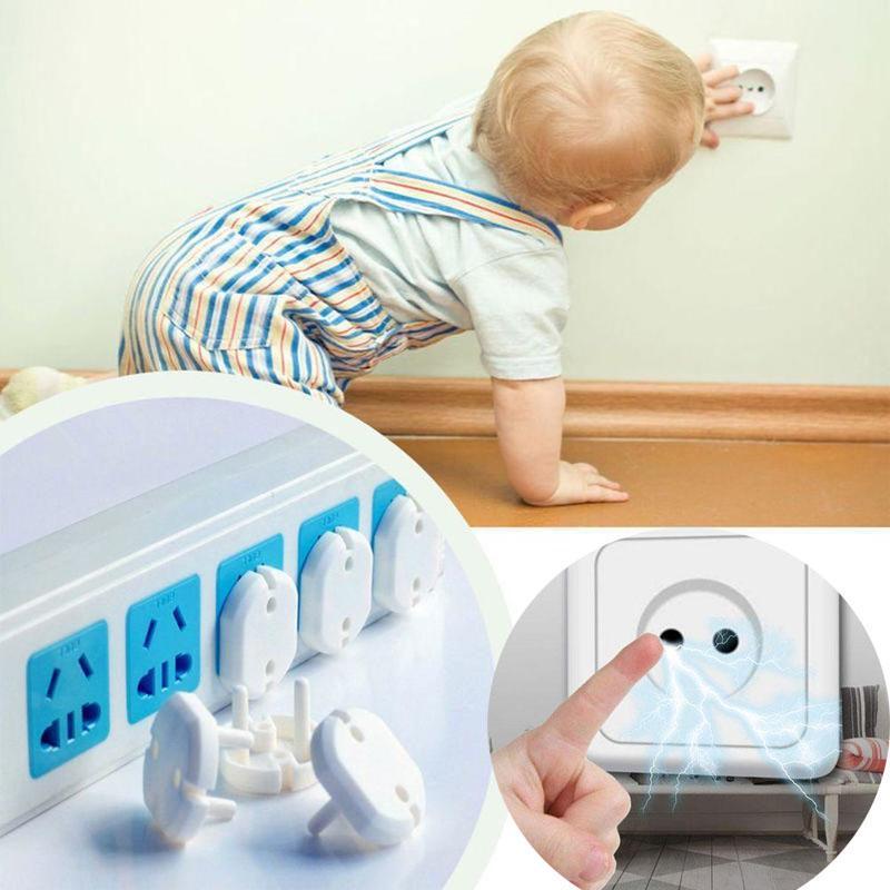 Tomada elétrica de 3 buracos, plugue para tomada elétrica para proteção de segurança infantil, 10 peças imperdível, quente