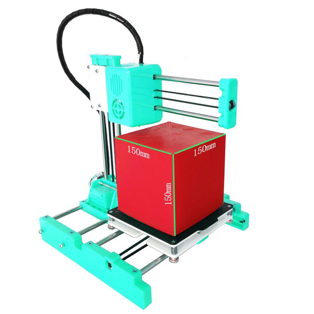 Easythreed 150X150 البسيطة 3D طابعة 3D 3 3dprinter FDM مع Heatbed Impresora Imprimante X3 Drukarka Imprimante 3D رخيصة
