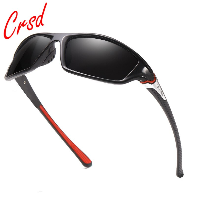 Солнцезащитные очки CRSD пластиковые для мужчин и женщин, модные поляризационные зеркальные солнечные очки для вождения и рыбалки, 2021