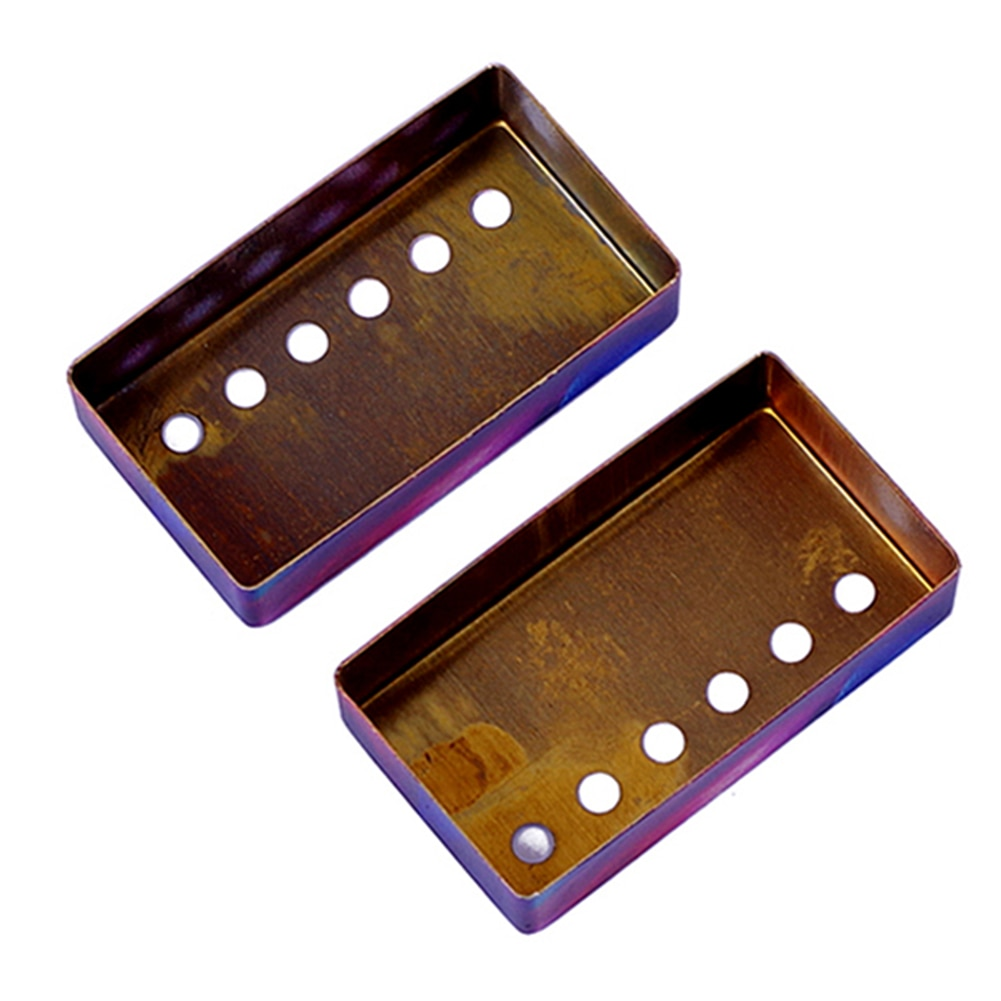 Guitar Humbucker Cover 6-Hole Design Electric Guitar Decoration Suitable For Electric Guitar Humbucker Pickup Decoration enlarge