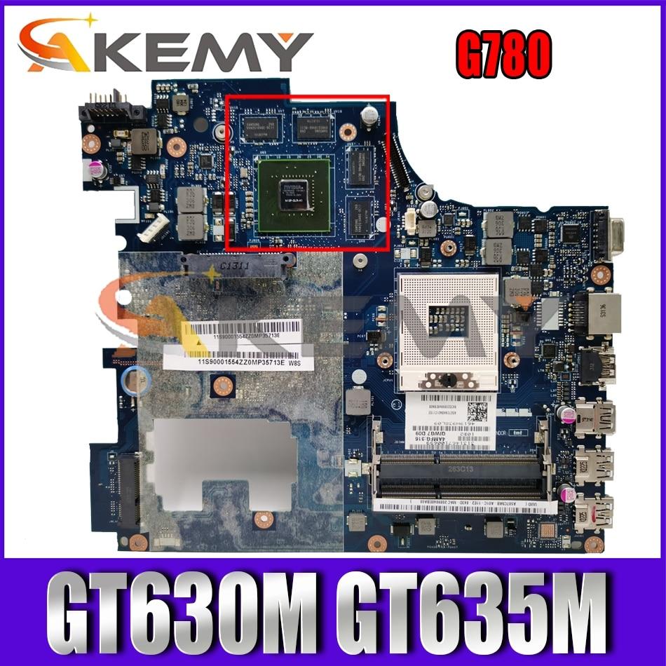 Akemy QIWG7 LA-7983P لينوفو G780 اللوحة المحمول PGA989 HM77 DDR3 GPU GT630M GT635M 100% اختبار