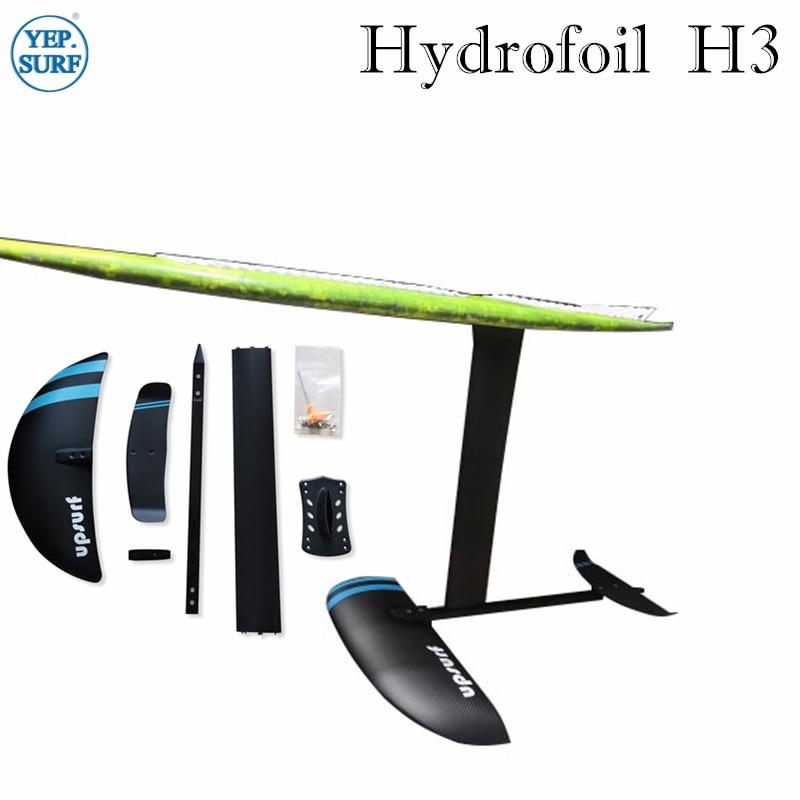 foil SUP aluminium hydrofoil AD-H3 foil with aluminium 47/65/70/75cm mast 3K carbon wings aluminium Fuselage hydrofoil surfboard