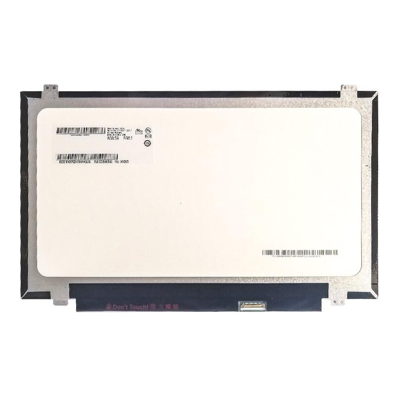 "14,0 ""B140RTN02.3 matriz de pantalla HD + 1600*900 portátil LCD pantalla LED para Monitor de Panel de repuesto nuevo 30 pines"