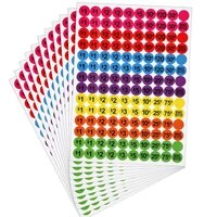 3080pcs sale tags discount price stickers removable price marker shopping promotion colorful labels