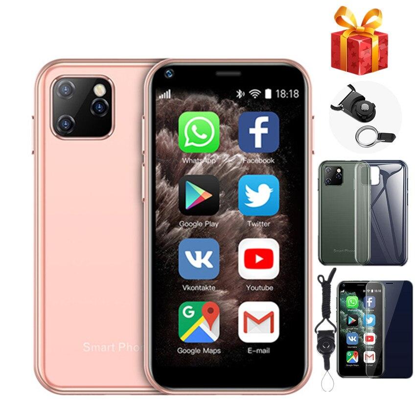 SOYES XS11 4G LTE Mini SmartPhone 1GB RAM 8GB ROM 2.5 pouces MT6580A Quad Core Android 6.0 1000mAh 2.0MP petite carte téléphone portable