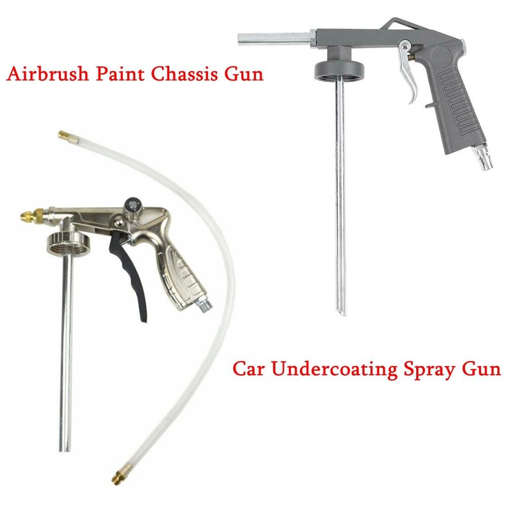 Aerógrafo pintura chasis arma coche Undercoating pistola de Undercoating pulverizador de Metal arma bajos recubrimiento de para automóvil