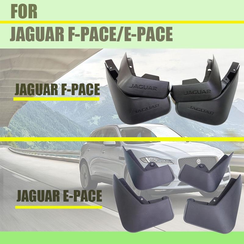 Para jaguar F-PACE pára-lamas jaguar fpace pára-choques carro mud flaps respingo guardas acessórios do carro estilo automático 4 pçs