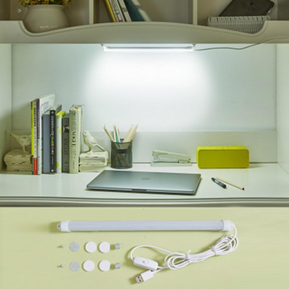Dormitory Reading Light Desk Lamp 6WB Switch Adjustable LED Strip Reading Lights Tube Lamp DC 5V for School Students