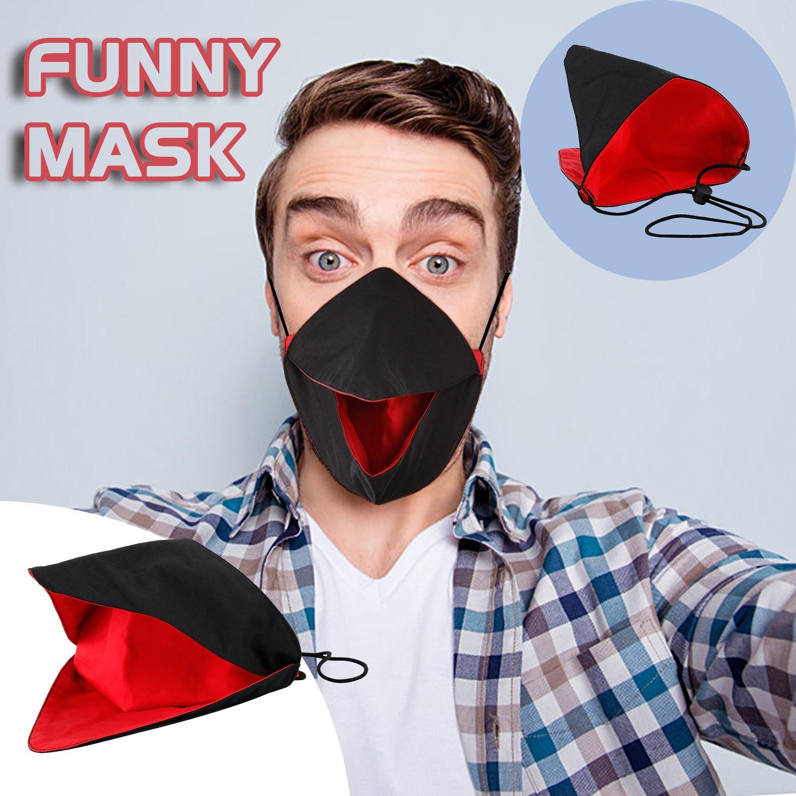 Adulto engraçado máscaras faciais criativo bico máscara earloops protetora rosto capa dustproof respirável máscaras de boca ajustável d7