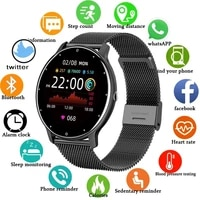 2021 new smart watch men full touch screen sports fitness watch ip67 waterproof smart watch ladies bluetooth for android iosbox