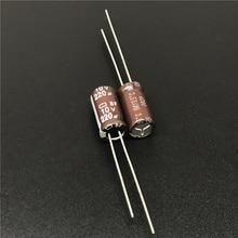10 pces 220 uf 10 v nippon bf série 6x12mm 10v220uf placa-mãe capacitor eletrolítico
