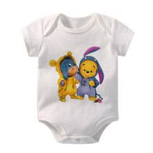 Eeyore Winnie the Pooh Print Toddler Infant Jumpsuit Kid Baby Girl Boy Cloth Casual Outfits Playsuit