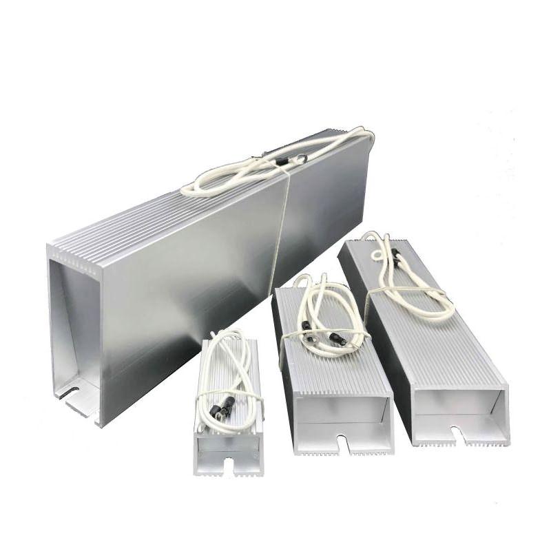 Resistencia de frenado para resistencia de carcasa de aluminio del inversor de frecuencia, resistencia Trapezoidal, para freno, Electricidad del elevador, 3000 w-5000 w
