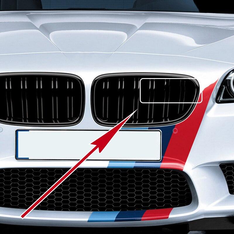 1 шт. автомобильный передний значок на решетку гриля аксессуары для Bmw M X1 X3 X4 X5 X6 E84 E83 F25 E90 E91 E60 F15 F16 E70 F30