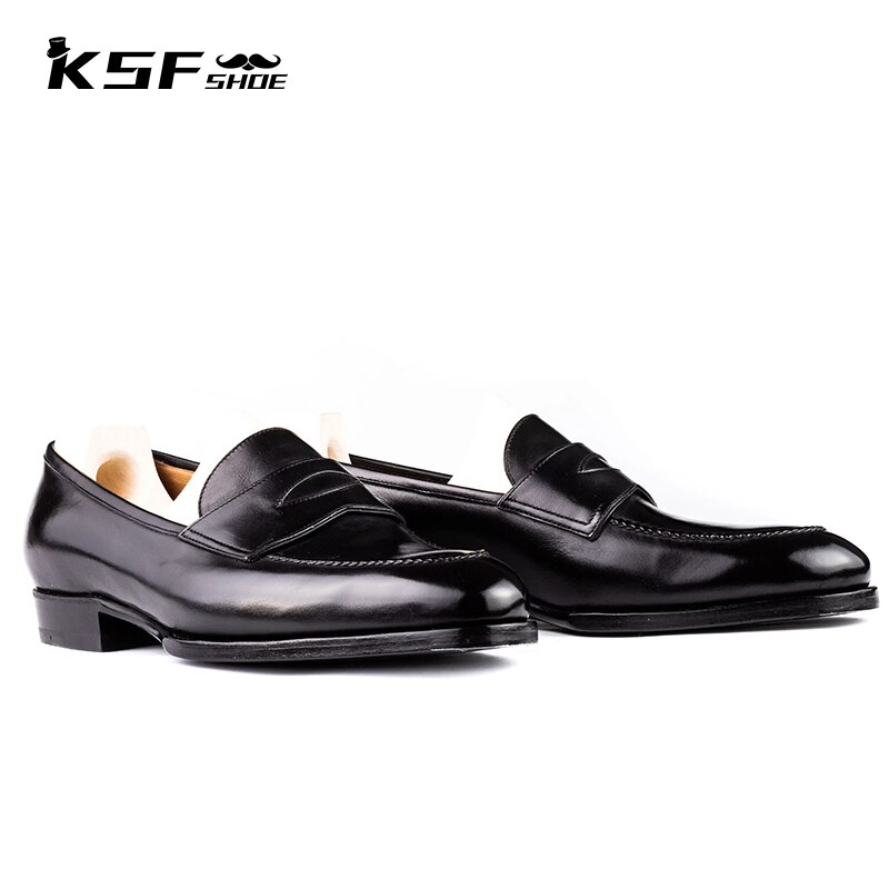 الفاخرة ماركة مصمم المتسكعون حذاء رجالي لأفضل رجل الأصلي الموضة مكتب عادية حقيقية أحذية من الجلد الرجال الكلاسيكية اليدوية