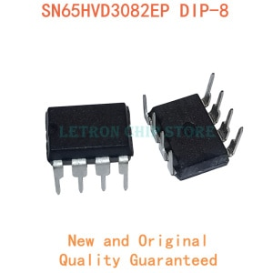 10pcs 65HVD3082 SN65HVD3082EP DIP8 SN65HVD3082 DIP-8 original and new IC
