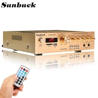 SUNBUCK     amplificateur stereo FM bluetooth 5 0  5 canaux  karaoke numerique  Home cinema