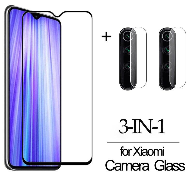 3-в-1 пленка Камера Стекло для Redmi 9S Note 8T 8 9 Pro стекло защитная пленка Xiaomi Redmi note 8 Pro Redmi8 защитное стекло редми 8а нот 8 про 9s стекло редми 8т редми ноут 8 про redmi note 9s 8t 8 pro стекло