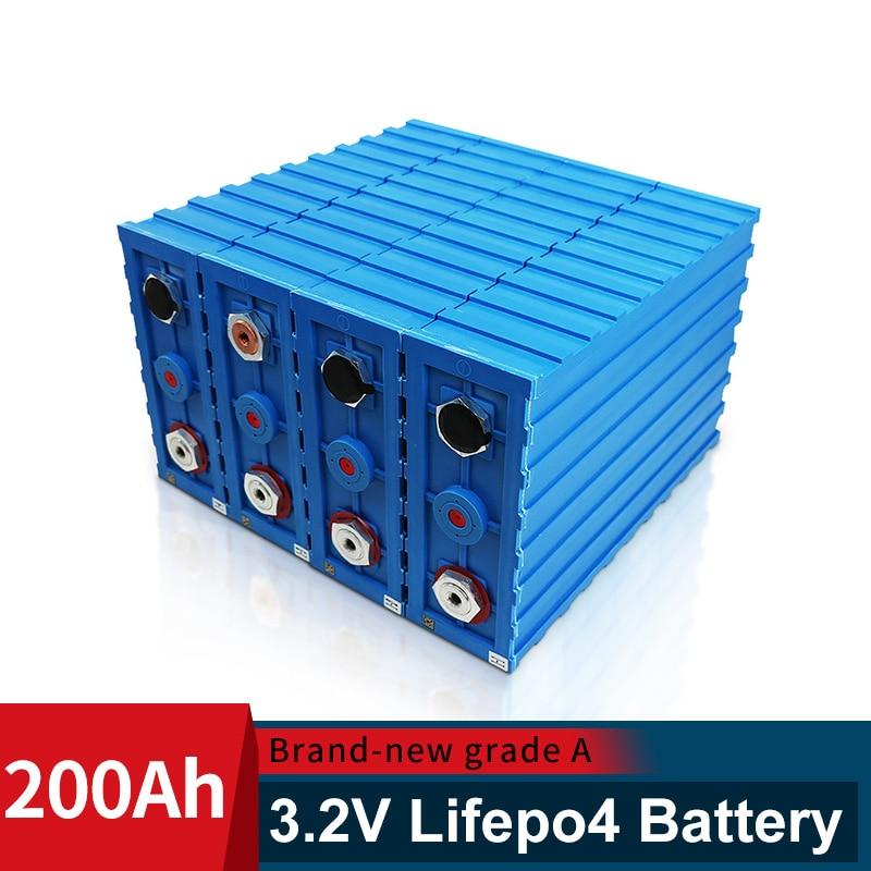 CALB Brand NEW Original 3.2V Lifepo4 16PCS 200AH Lithium Battery 48V200ah not 120Ah 150ah 280Ah For RV Battery With Busbars