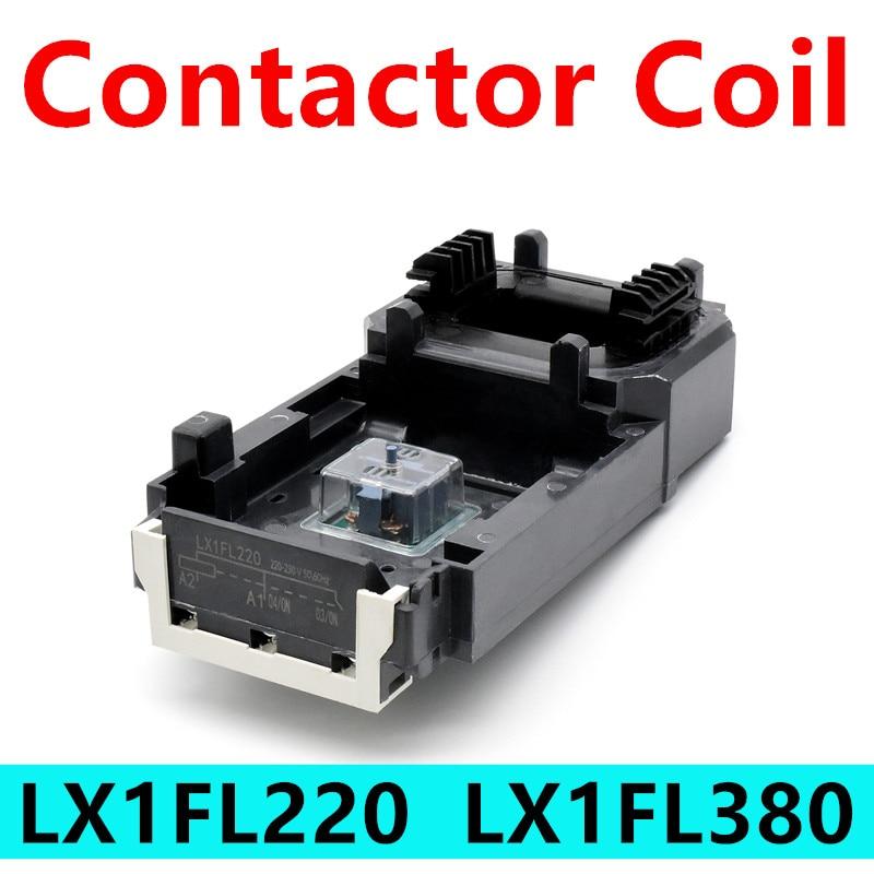 LX1FL220 LX1FL380 AC Contactor tensión de Control de LC1D620 NC2-630 LC1F630 CJX2-F630...