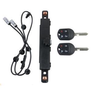 AP03 For Ford F150 FX2 FX4 XL XLT Crew Cab 3.5L 3.7L 5.0L 6.2L Remote Start Hood Switch Kit 2 Keys BC3Z19G364A