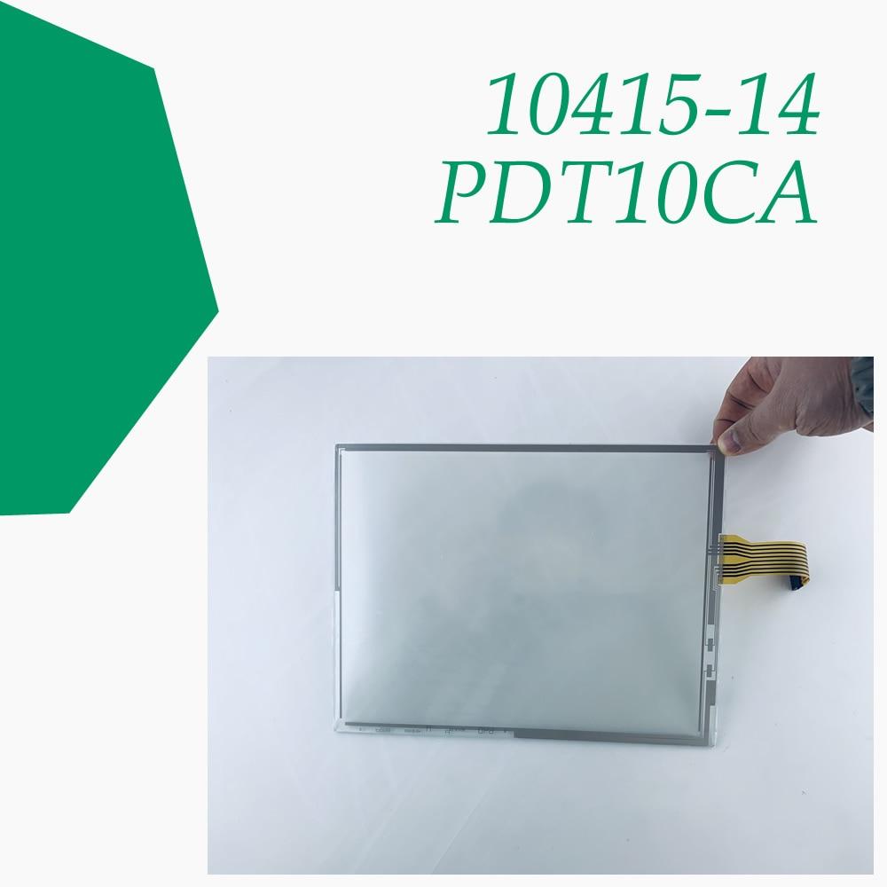 شاشة 10415-14 PDT10CA 10.4 بوصة تعمل باللمس زجاج لإصلاح لوحة المشغل آلة HMI ~ تفعل ذلك بنفسك ، لديها في الأوراق المالية