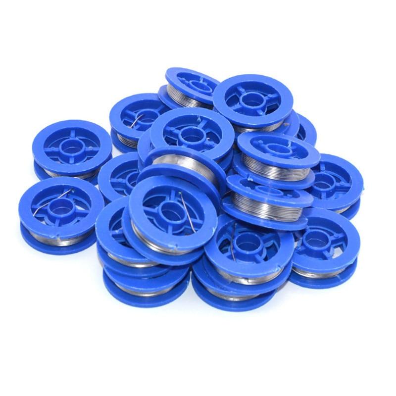 1 rolo de fio de solda do núcleo da resina do derretimento do fio da lata da ligação da lata de 1.7m