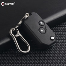 KEYYOU remplacement modifié rabat pliant voiture à distance clé coque étui pour Honda Accord CRV Civic Pilot Insight Fob clé couverture