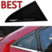Car stickers Rear Window Triangle Sticker Reflective stickers For Chevrolet Cruze Decorative Triangle Sticker