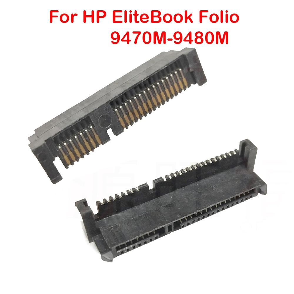 10 قطعة القرص الصلب موصل جاك ميناء ل HP EliteBook فوليو 9470 متر 9480 متر قرص صلب نقل واجهة مقبس توصيل