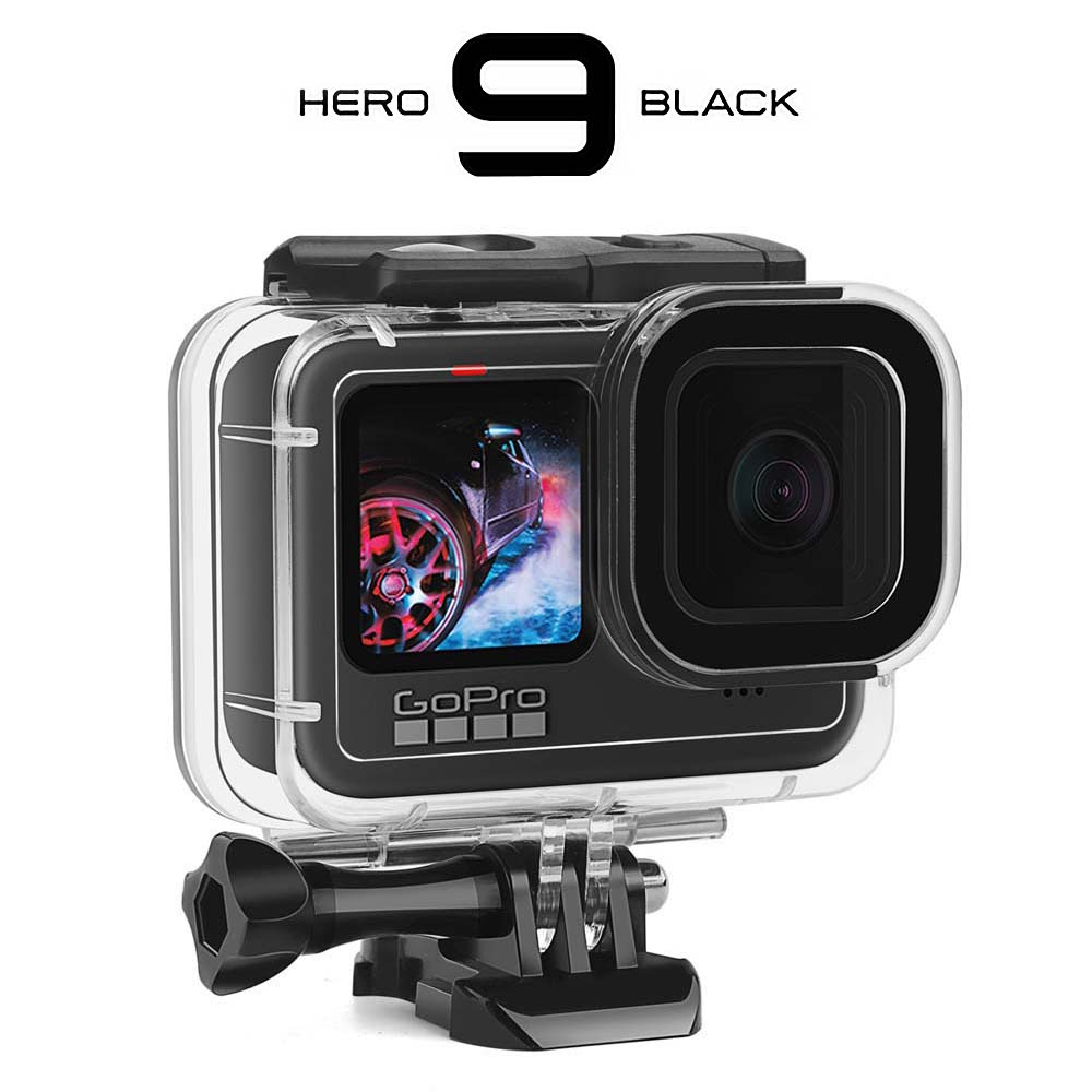 60M Waterproof Case for GoPro Hero 9 Black Protective Diving Underwater Housing Shell Cover for Go Pro 9 Camera Accessory