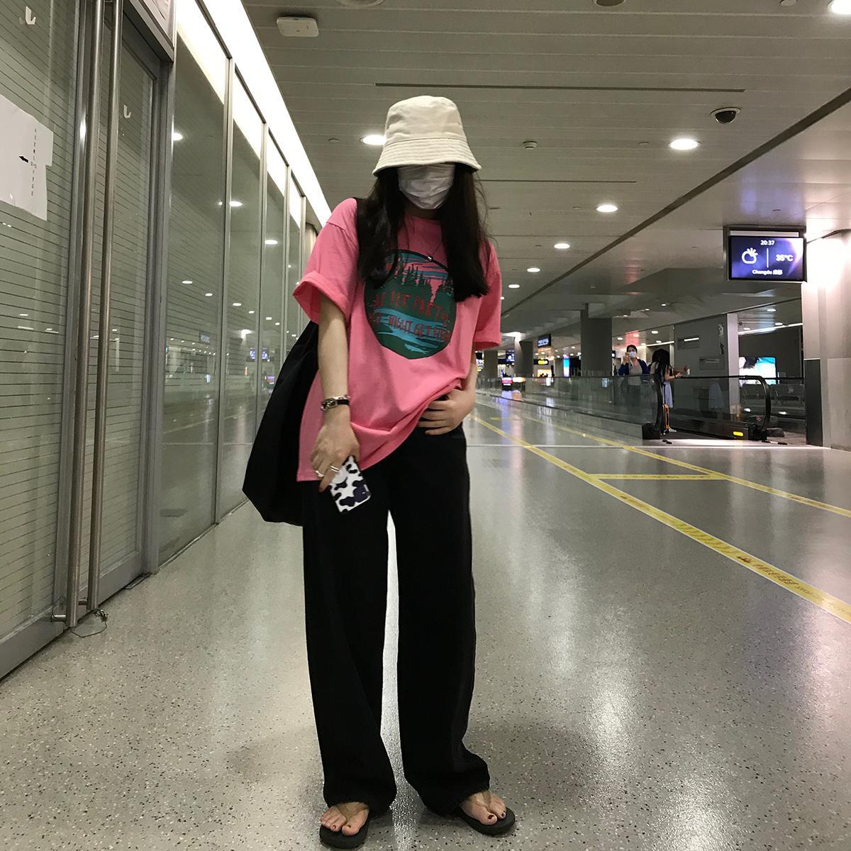 Винтажные джинсы, женские свободные широкие брюки с высокой талией, черные прямые джинсы, женские осенние Ретро-джинсы в Корейском стиле