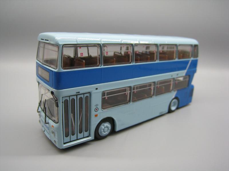 OFERTA ESPECIAL rara 1/76 London Bus 531 azul doble cubierta bus modelo de colección de aleación
