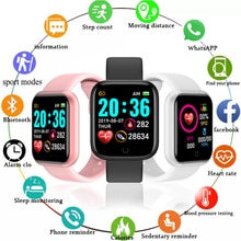 Sport Watches For Apple Android Digital Wristwatch Health Monitoring Men Women Watch Hours Step Coun